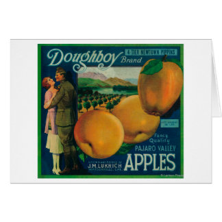 Doughboy Apple Crate LabelWatsonville, CA Card