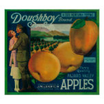 Doughboy Apple Crate LabelWatsonville, CA Poster