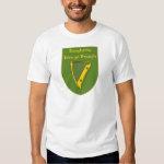 Dougherty 1798 Flag Shield T Shirt