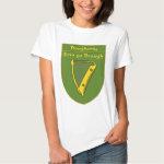 Dougherty 1798 Flag Shield Tee Shirt
