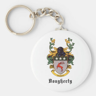 Dougherty Coat of Arms Keychain