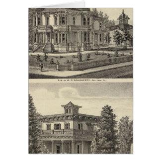 Dougherty, Murphy residences Greeting Card