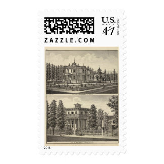 Dougherty, Murphy residences Postage