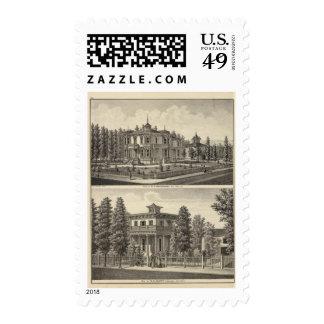 Dougherty, Murphy residences Postage Stamp