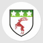 DOUGHERTY SHIELD CLASSIC ROUND STICKER