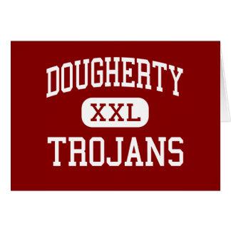 Dougherty - Trojans - Comprehensive - Albany Card