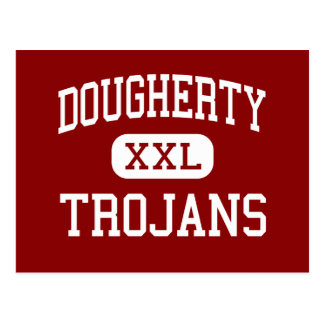 Dougherty - Trojans - Comprehensive - Albany Postcard
