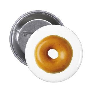 Doughnut Pinback Button