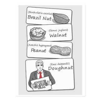 'Doughnut' Divorce Postcard