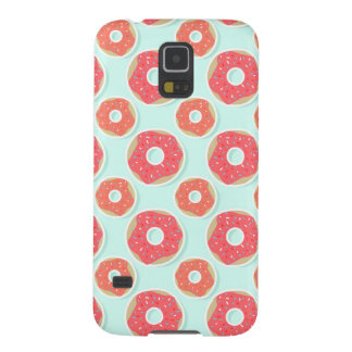 Doughnut Donut Pattern, Pink and Blue Case For Galaxy S5