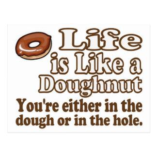 Doughnut Life Postcard