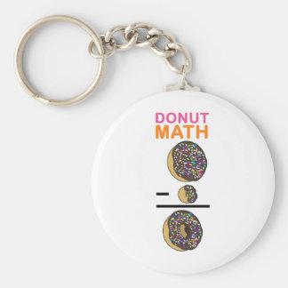 Doughnut Math Keychain