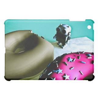 Doughnuts and Toy Robot 02 Speck Case Case For The iPad Mini
