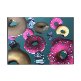 Doughnuts and Toy Robot 03 Covers For iPad Mini