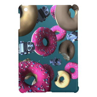 Doughnuts and Toy Robot 03 iPad Mini Cases