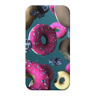 Doughnuts and Toy Robot 03 iPhone 4/4S Cover