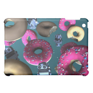 Doughnuts and Toy Robot 03 Speck Case Case For The iPad Mini