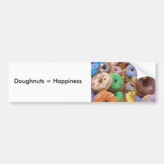 Doughnuts Bumper Sticker