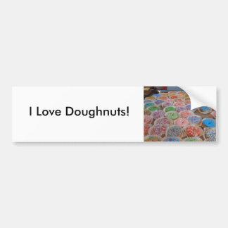Doughnuts! Car Bumper Sticker