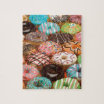"doughnuts jigsaw puzzle<br><div class=""desc"">For those who LOVE doughnuts,  this is for you!!!</div>"