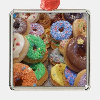 Doughnuts Metal Ornament