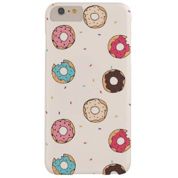 doughnuts pink donuts cute elegant barely there iPhone 6 plus case