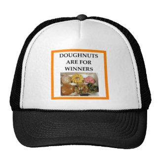 DOUGHNUTS TRUCKER HAT