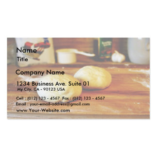 Doughs For Pizza Double-Sided Standard Business Cards (Pack Of 100)