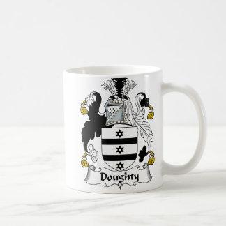 Doughty Family Crest Coffee Mug