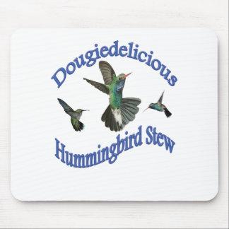 Dougiedelicious Hummingbird Stew Mouse Pad