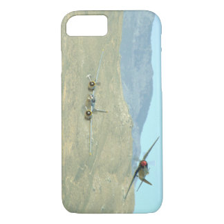 Douglas A26 And Seafury, Flying_WWII Planes iPhone 8/7 Case