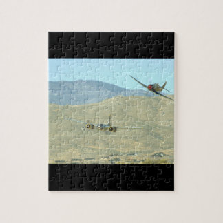 Douglas A26 And Seafury, Flying_WWII Planes Jigsaw Puzzle