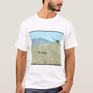 Douglas A26 And Seafury, Flying_WWII Planes T-Shirt