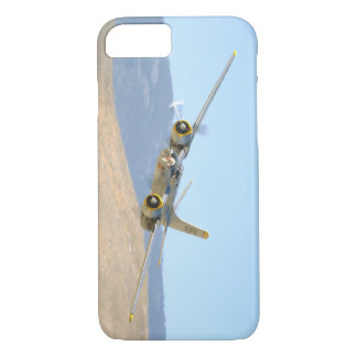 Douglas A26 Invader, Aerial View_WWII Planes iPhone 8/7 Case
