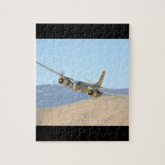 Douglas A26 Invader, Aerial View_WWII Planes Jigsaw Puzzle
