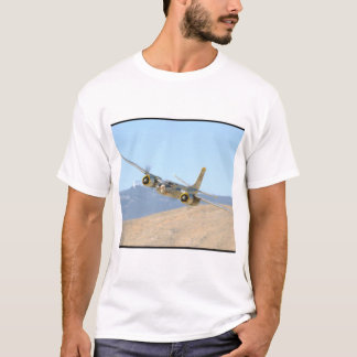 Douglas A26 Invader, Aerial View_WWII Planes T-Shirt
