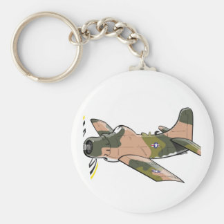 douglas a-1 skyraider keychain