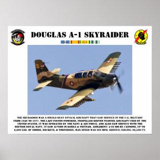 Douglas A-1 Skyraider Poster