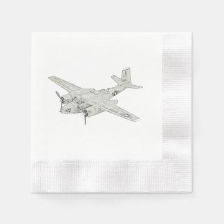 Douglas A-26 Invader Napkin