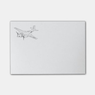 Douglas A-26 Invader Post-it® Notes