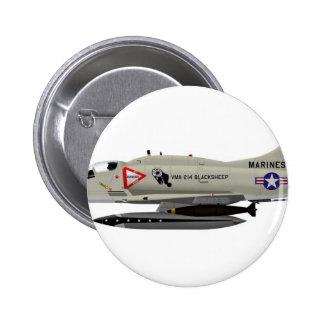 Douglas A-4M Skyhawk Blacksheep 159477 Buttons
