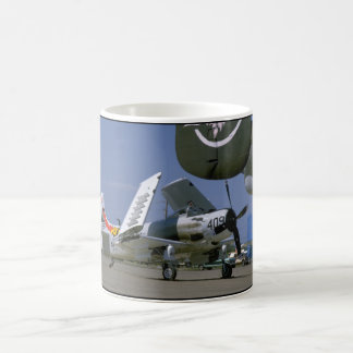 Douglas AD-1 Skyraider, Folded Wings_WWII Planes Coffee Mug