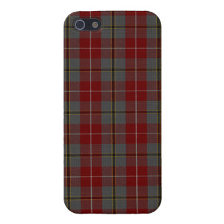 Douglas Ancient Red Tartan Plaid Pattern Case For iPhone 5
