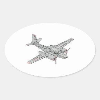 Douglas B-26 Invader Stickers