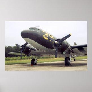 Douglas C-47 Poster print