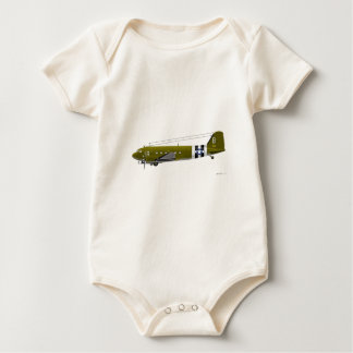 Douglas C-47 Skytrain Baby Bodysuit