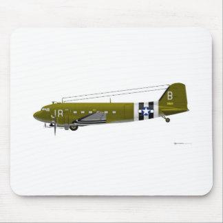 Douglas C-47 Skytrain Mouse Pad