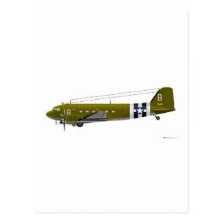 Douglas C-47 Skytrain Postcard