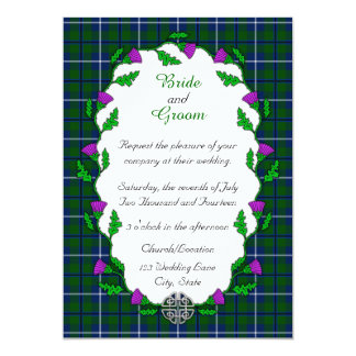 Douglas Celtic Wedding Card