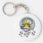 Douglas Clan Badge Keychain